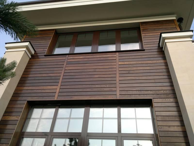 Стоимость панелей для отделки фасада