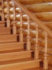 Купить комплектующие для лестниц из дерева от