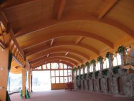деревянные гнутые балки