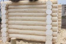 Готовый сруб бани из осины