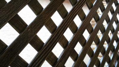 шпалера деревянная лиственница