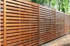 Деревянный забор из лиственницы